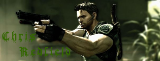 Chris Redfield Signature by Drak58