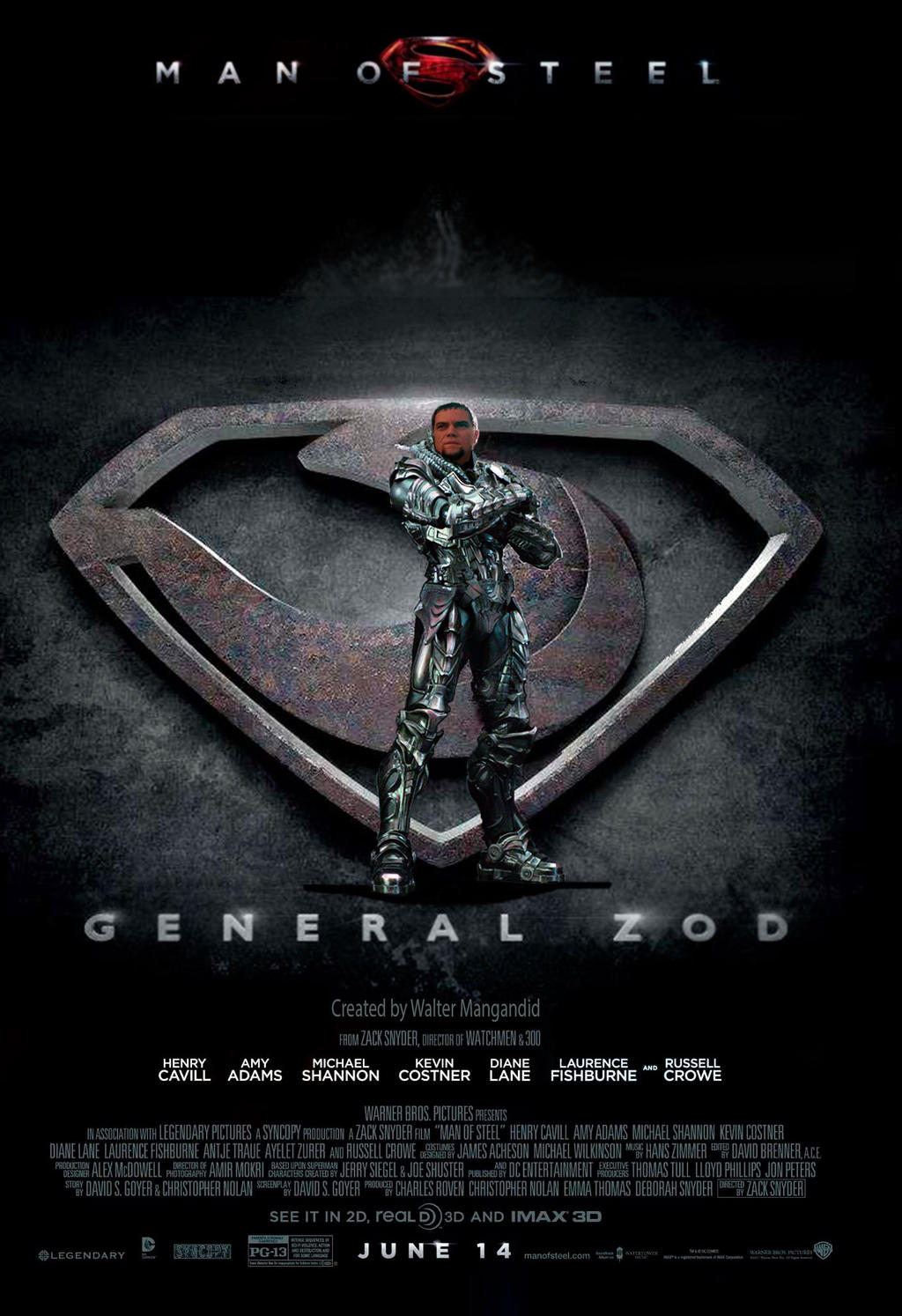 Man of Steel  Zod Poster by Wally584Man Of Steel Wallpaper Zod
