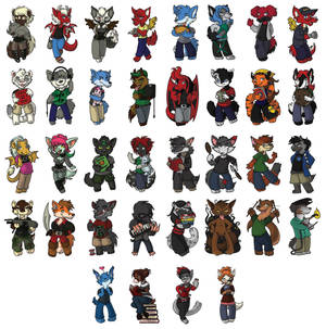 Chibi Badges