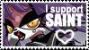 Saint Stamp by sushikitten