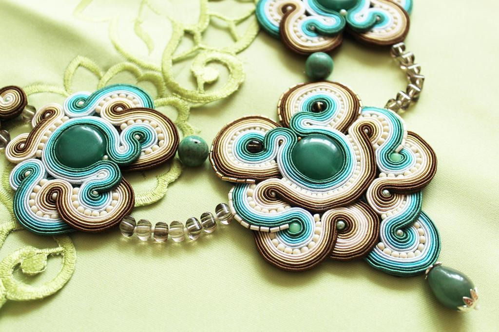 Necklace Laguna by GosiaBizu