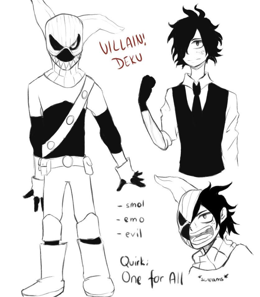 Villain!Deku Reference By Pokefighterlp On DeviantArt