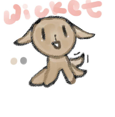 Wicket Pic by DillyxArt