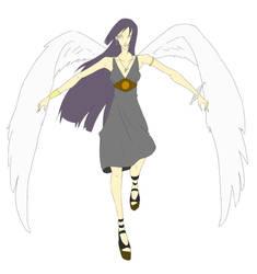 angel wings by ehteshamhaider