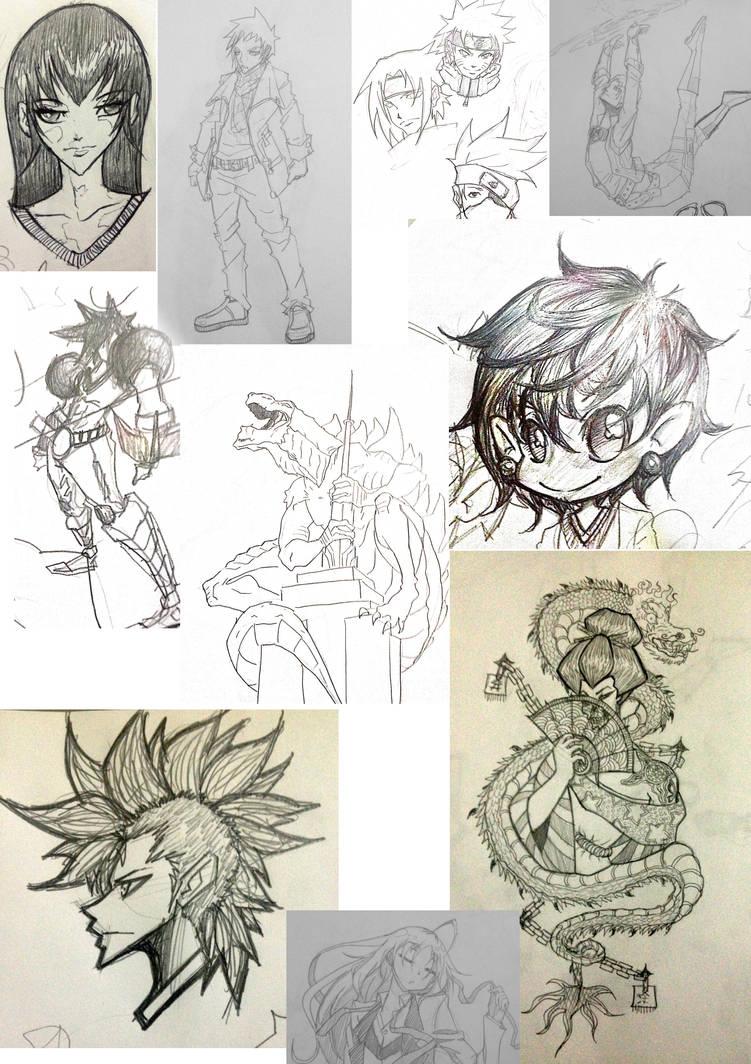 sketch dump by ehteshamhaider