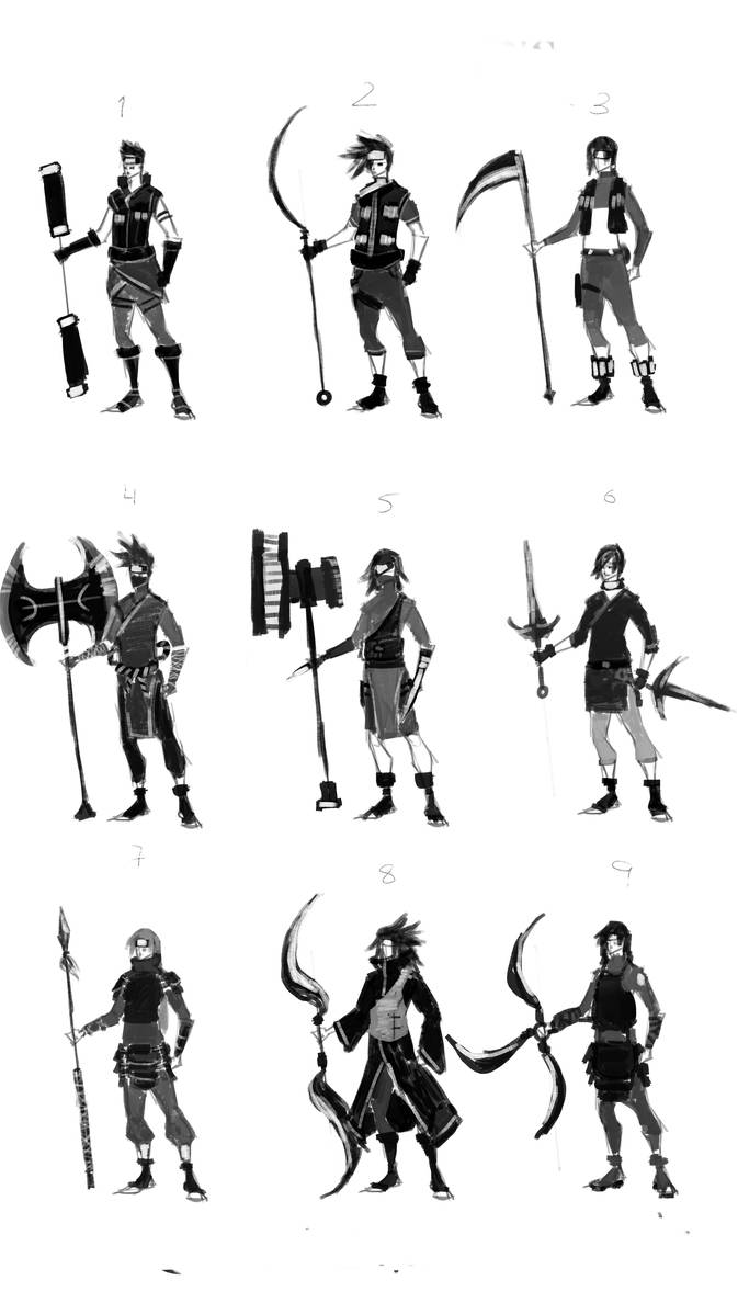 naruto designs by ehteshamhaider