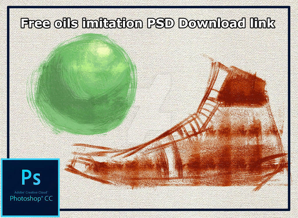 Imitate oils in photoshop PSD by ehteshamhaider