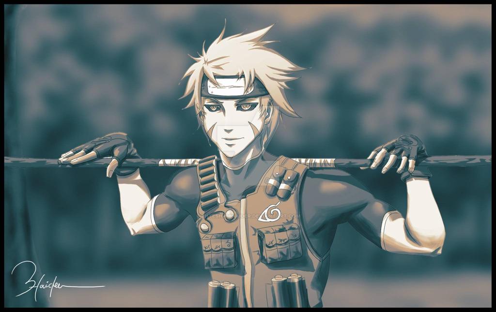 Naruto OC by ehteshamhaider