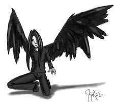 Fallen Angel by korde