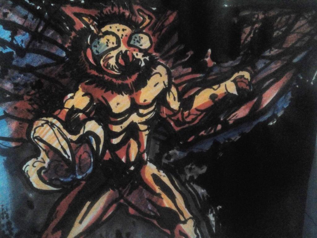 comic creatures 2 by aaryankhakan