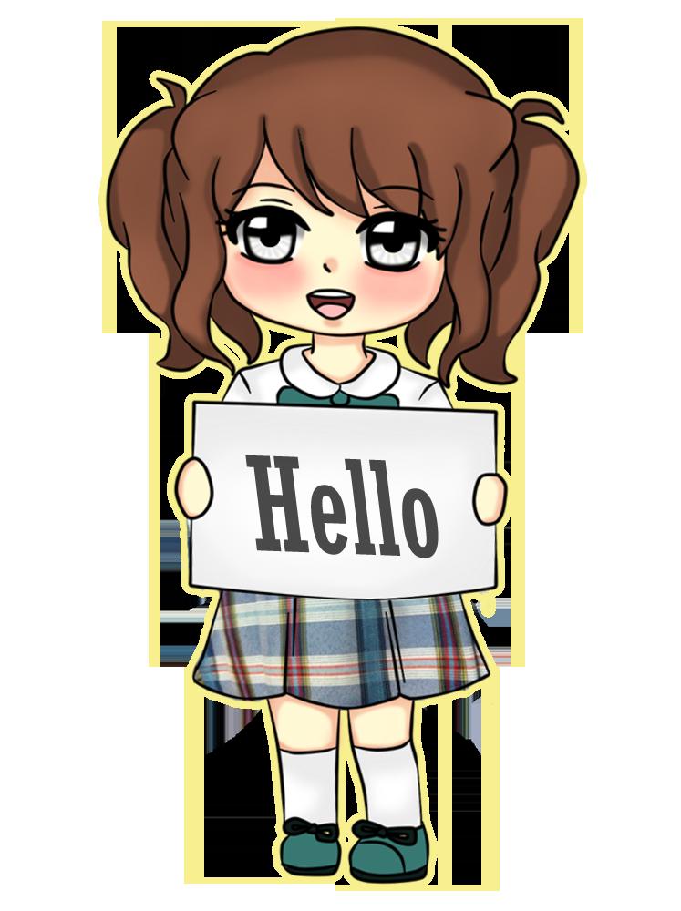 Chibi: Hello by HanaLorine