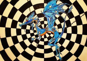 blue dragon by dream-stealer27