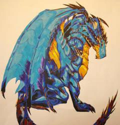 mean dragon by dream-stealer27