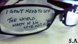 Blind Love by shahnaazalam