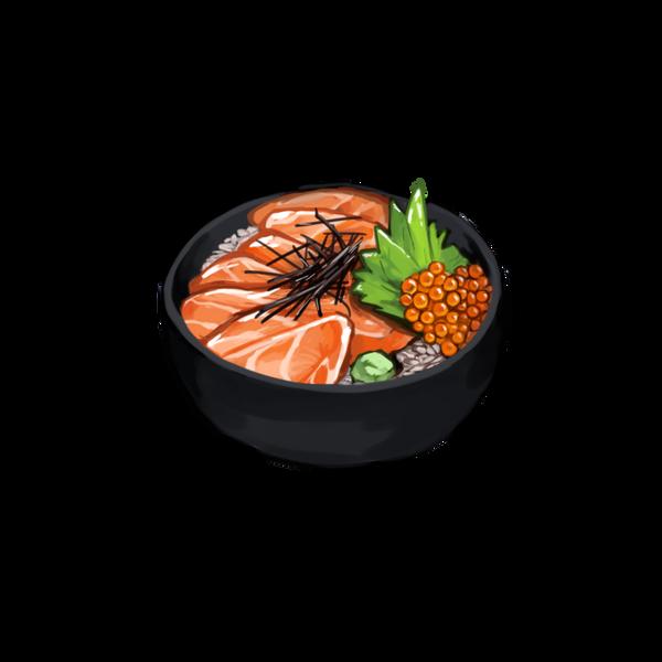 Salmon Roe Rice - Chomp Chomp by adirosa