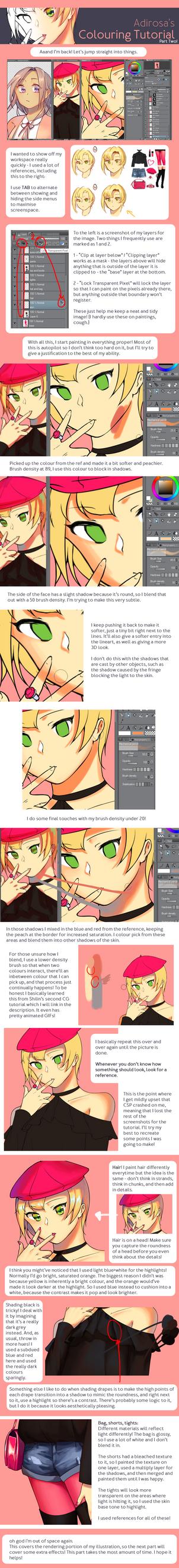 Adirosa's Colouring Tutorial: Part Two by adirosa