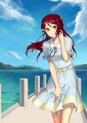 Commission: Sakurauchi Riko by adirosa