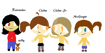 Cledus's family by charadreemer101