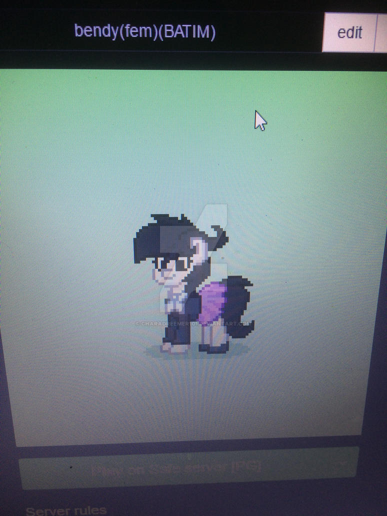 join me on pony town!! by charadreemer101