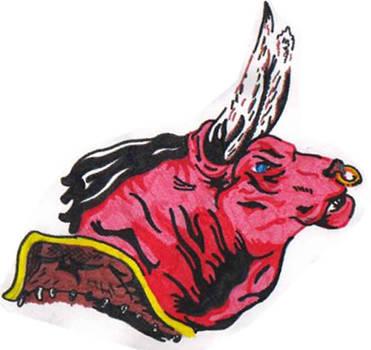 minotaur bull by Tom345