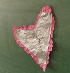 Duct tape heart by AGoldenDragon