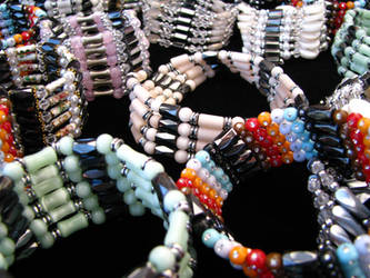 Bright bracelets by AGoldenDragon