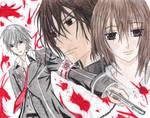 Vampire Knight- K+Y+Z