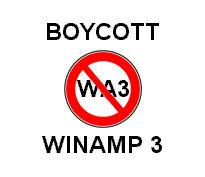 BOYCOTT WINAMP 3 by barta