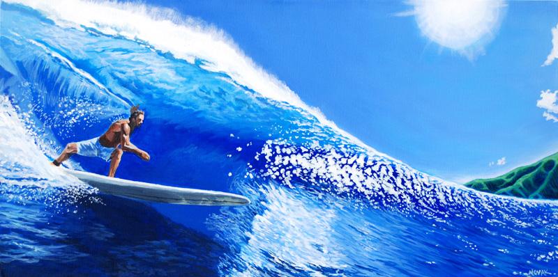 blue wave by sethsART