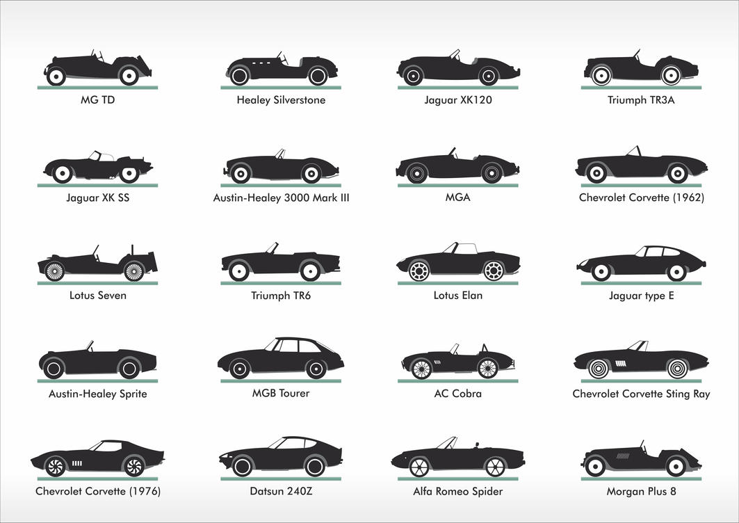 Car Silhouettes Series By Samicehrabace On Deviantart