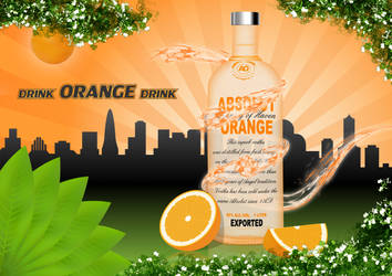 Absolut orange by SamiceHrabace