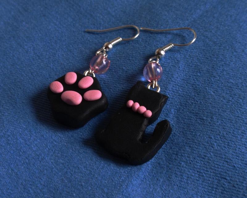 Cat Earrings by JEricaM