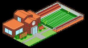 Pixel Art Town Entry