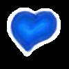 Blue Heart by JEricaM