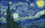 Pixel Starry Night