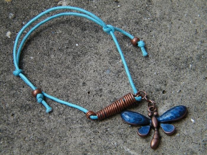Butterfly bracelet by JEricaM