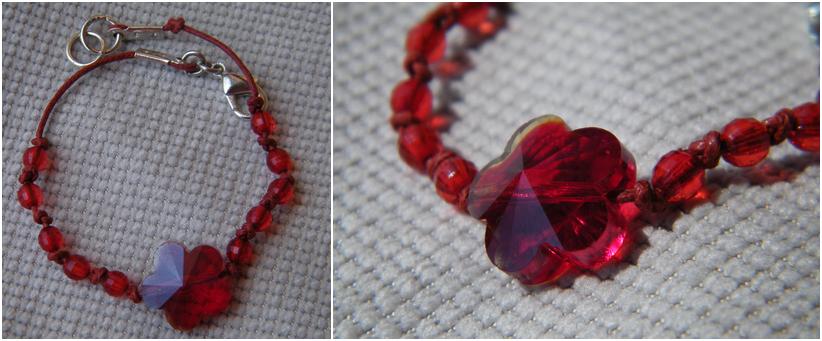 Red Bracelet by JEricaM