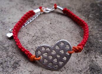 Heart Bracelet #Handmade