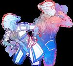 Liara and Samara by regeener