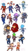 Chibi Mass Effect
