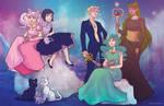 Princess Senshi- Outer Senshi
