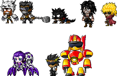 Random Characters by gamblerichigo
