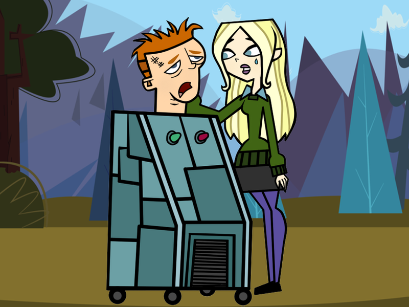Total Drama Zoey And Dawn: Dawn Feels Sorry For Poor Scott By Pennsatucky On DeviantArt