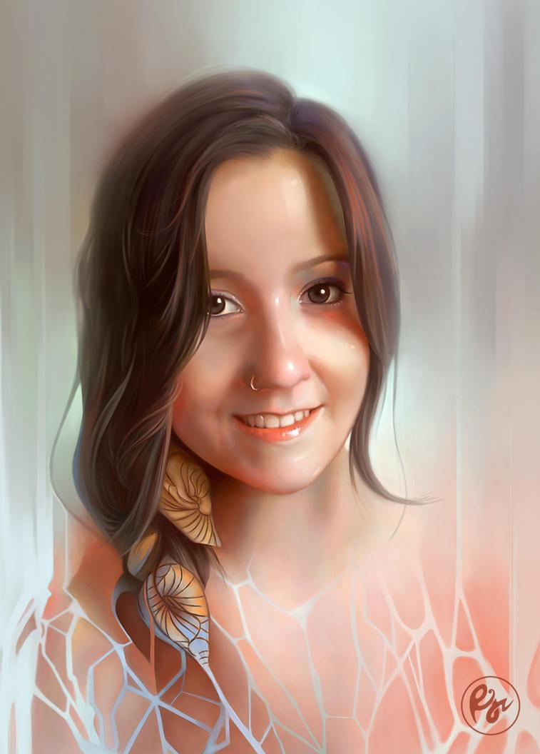 Retratando Ilustradoras by Rajoviarbu