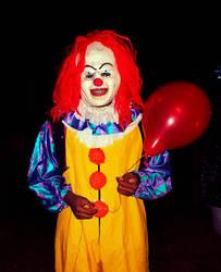 A clown.