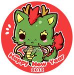 2012 New Year by Pijenn
