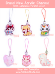 Polkadot Cute Acrylic Charms part2