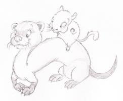 Ferret AND Gerbil by ShoJoJim