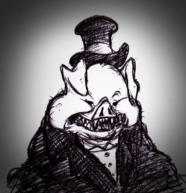 Demon Pig By ShoJoJim On DeviantArt