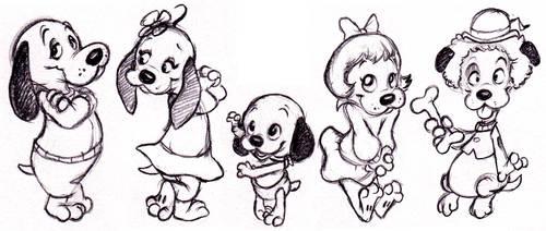 Pound Puppies by ShoJoJim